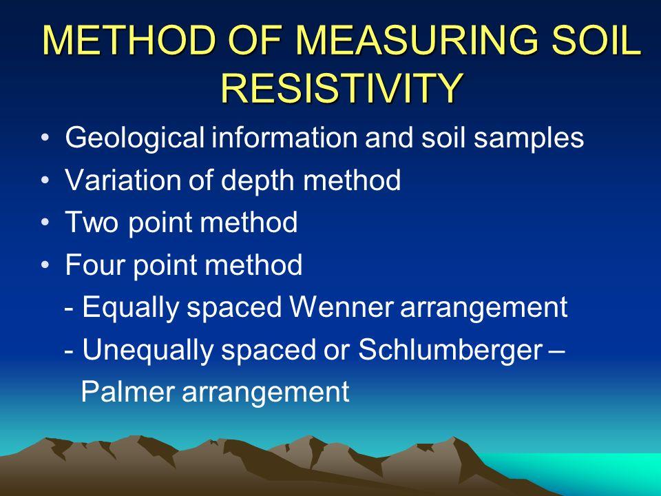 Power system grounding ppt download for Soil resistivity