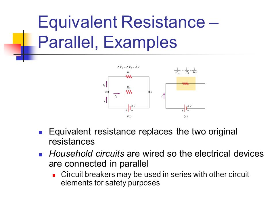 series and parallel circuit elements Experiment 8: series/parallel circuit elements laboratory report frances aina beatrice javier, faith dominique lee, ian carlos lipardo, joy clarize lubao department of math and physics college of science, university of santo tomas espana, manila philippines abstract in this experiment, the resistance of two resistors.