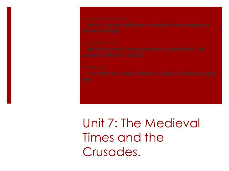 medieval times essay