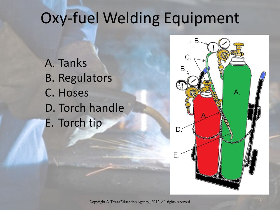 Oxy-fuel Welding Equipment