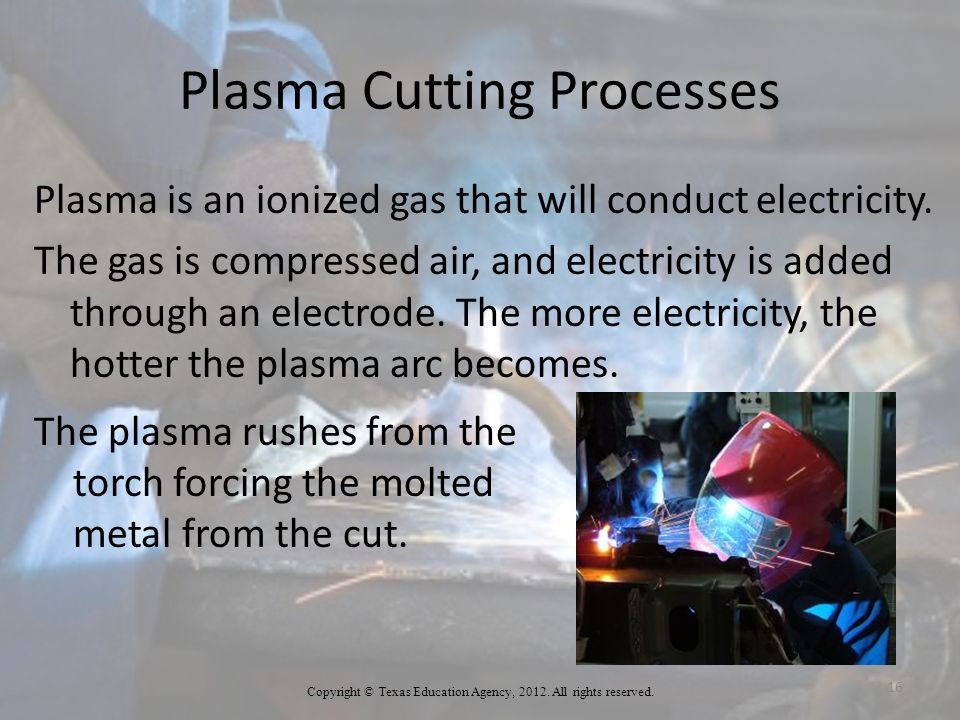 Plasma Cutting Processes