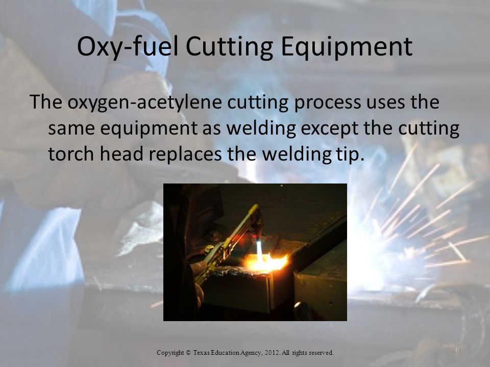 Oxy-fuel Cutting Equipment