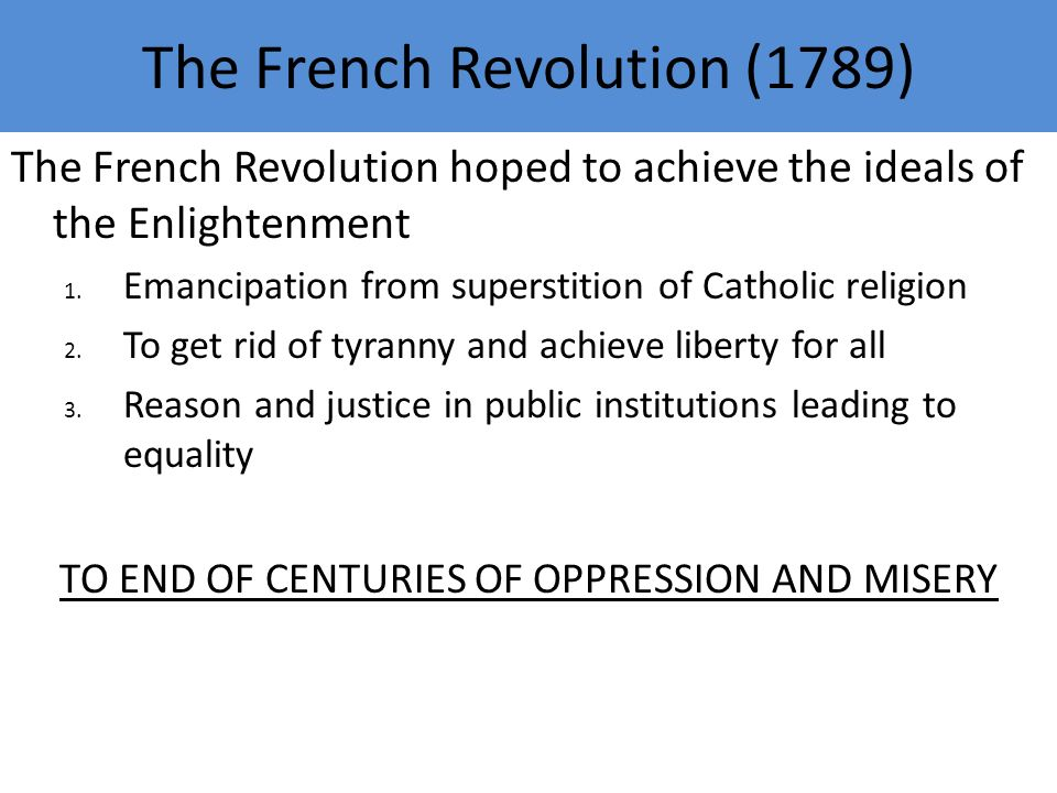 The Era of the French Revolution Affirmation of Liberty and – French Revolution Worksheet