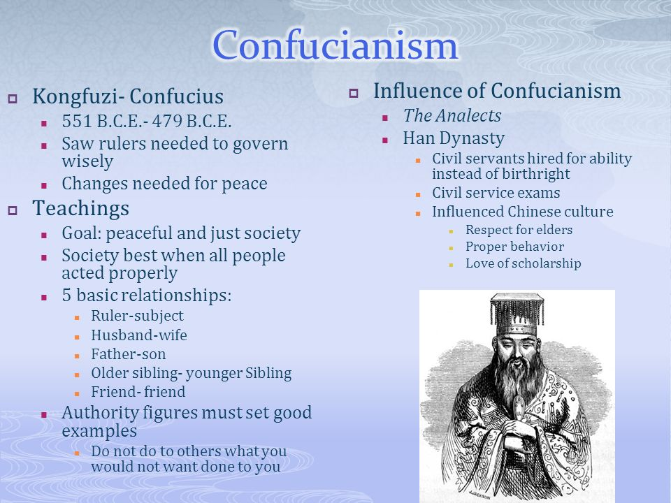Confucianism Beliefs and Teachings