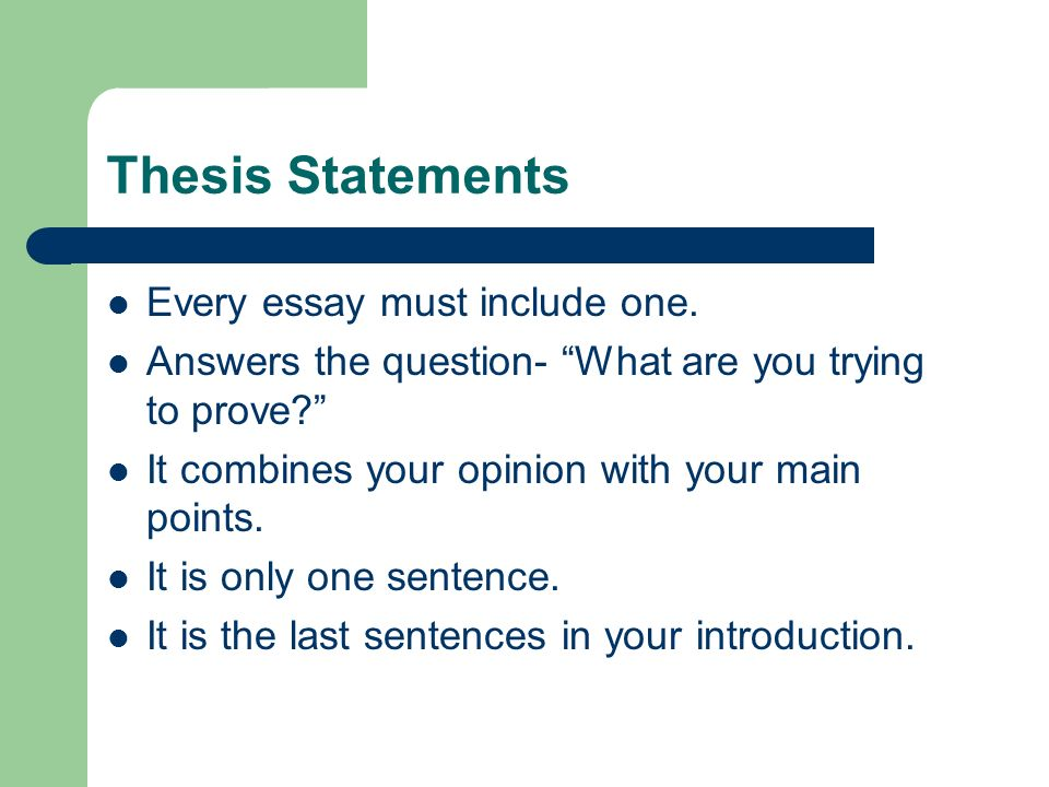 Introduction Sentences For Compare And Contrast Essays Samples