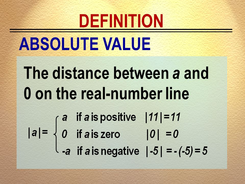 DEFINITION ABSOLUTE VALUE