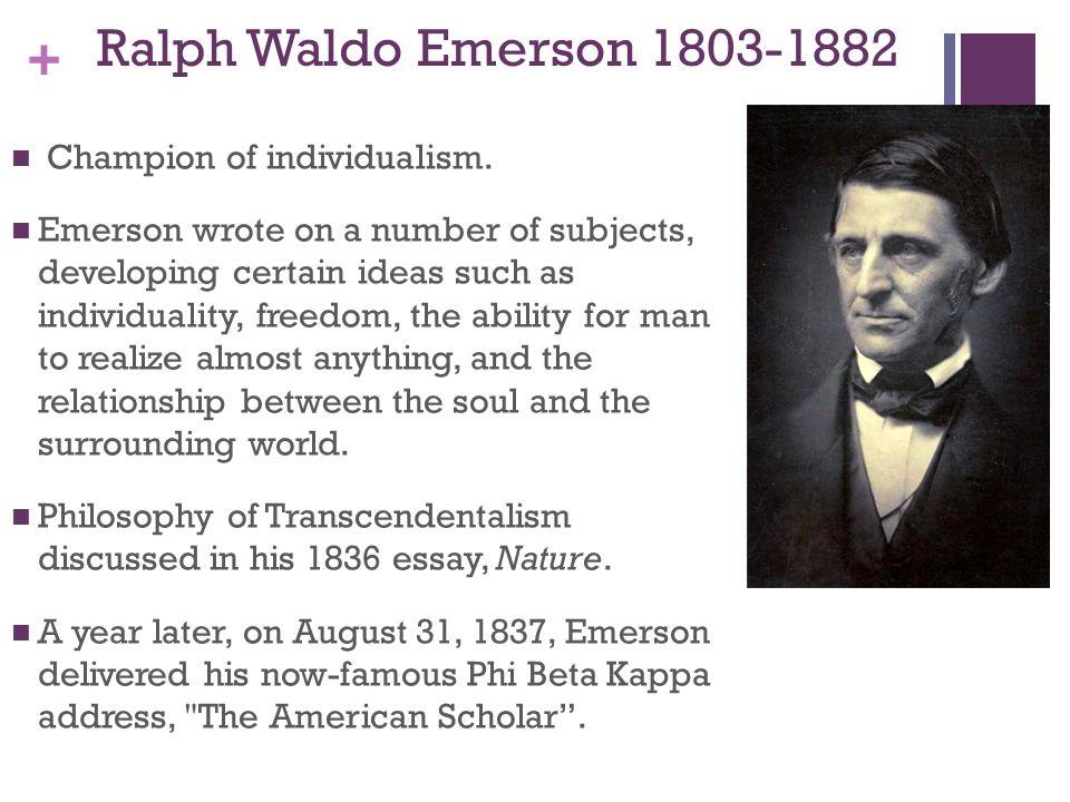 Walt Whitman  Poet  Academy Of American Poets The American Scholar By Ralph Waldo Emerson Essay