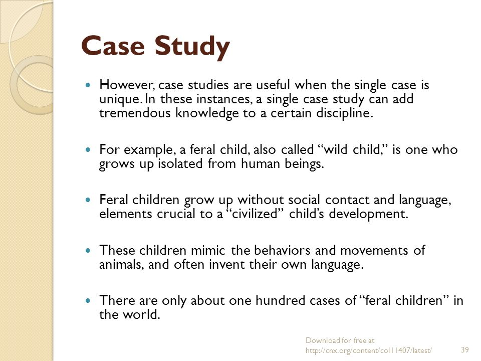 Case Study Research on Language Learning and Use