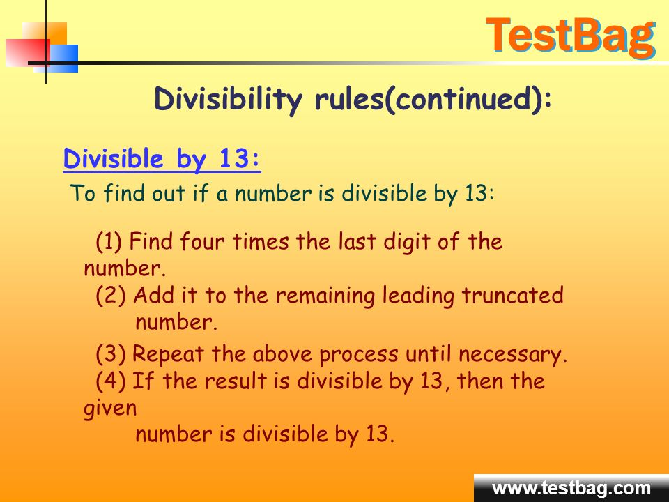 how to know if a number is divisible by 3