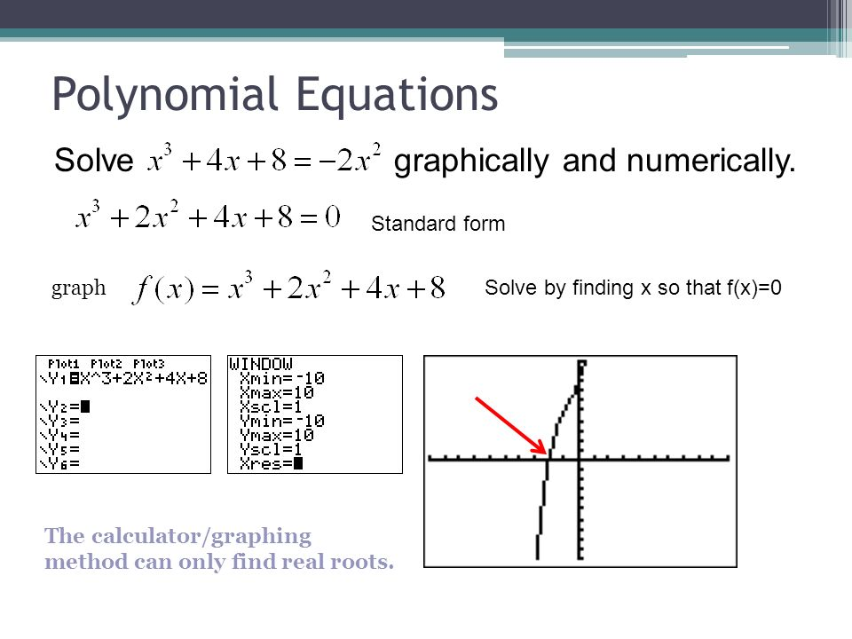 how to write a polynomial into standard form