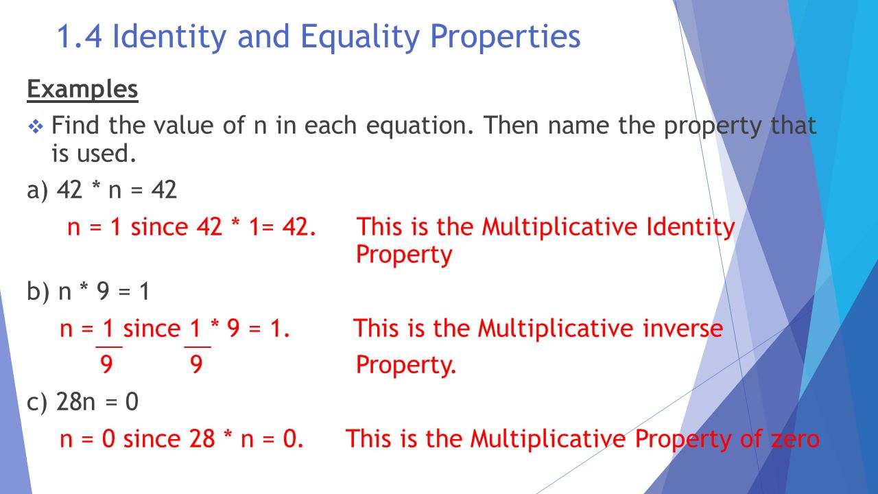 identity and equality properties worksheet free worksheets library ...
