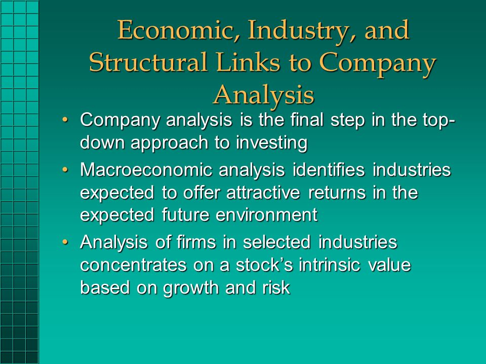 Company Analysis And Stock Valuation  Ppt Download