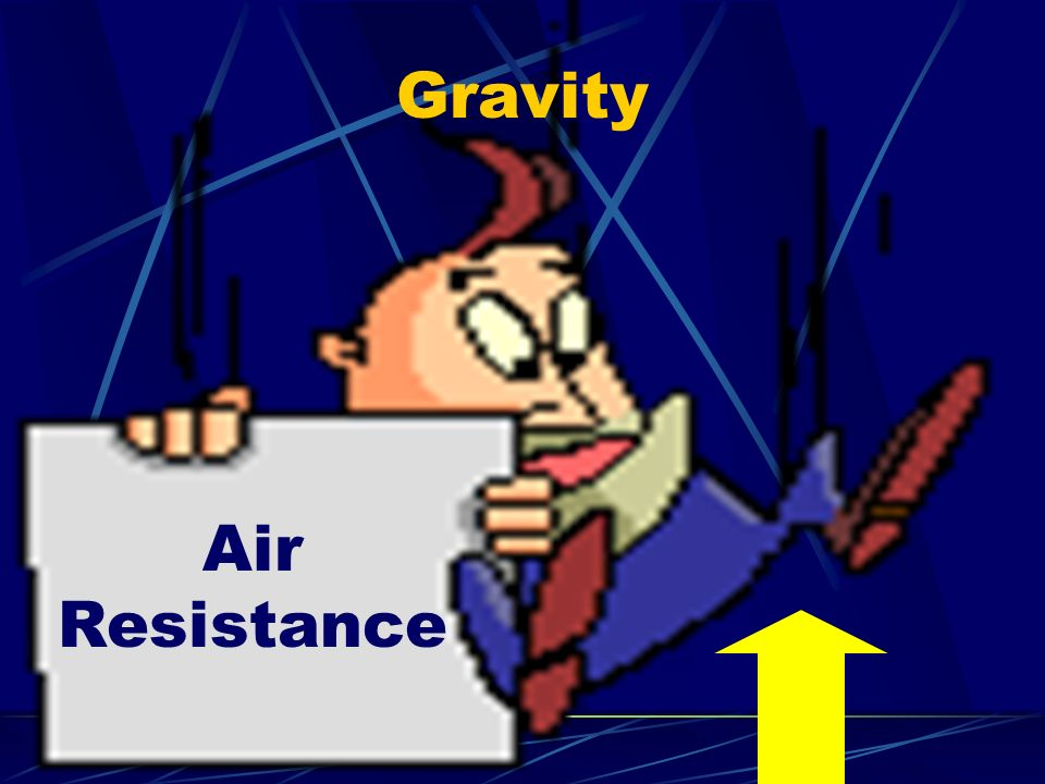 Gravity Air Resistance