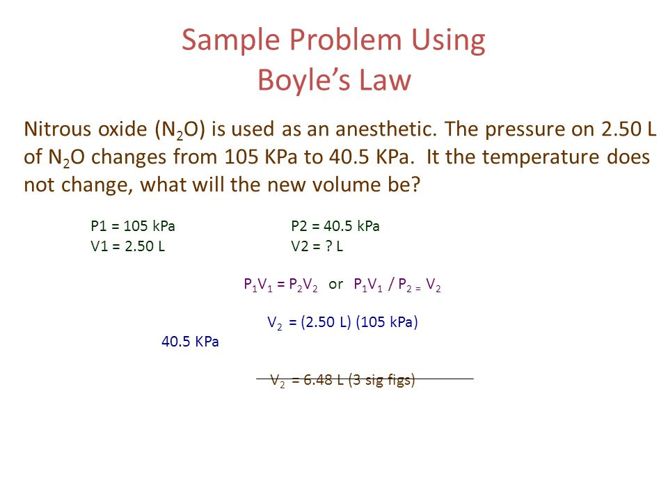 boyles law essay In the 1600's robert boyle from ireland explained the relationship between pressure and volume of a gas, which is now known as, boyle's law boyle's law states a volume of gas varies inversely proportional to its pressure at a constant temperature.