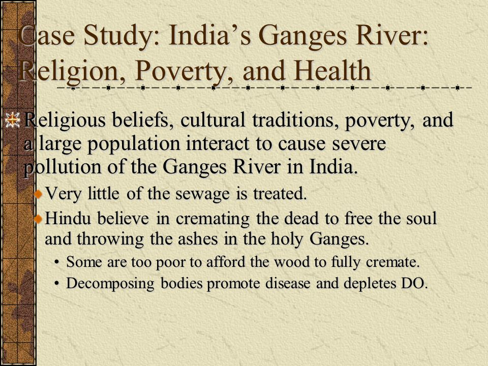 environment ozone depletion and river ganges