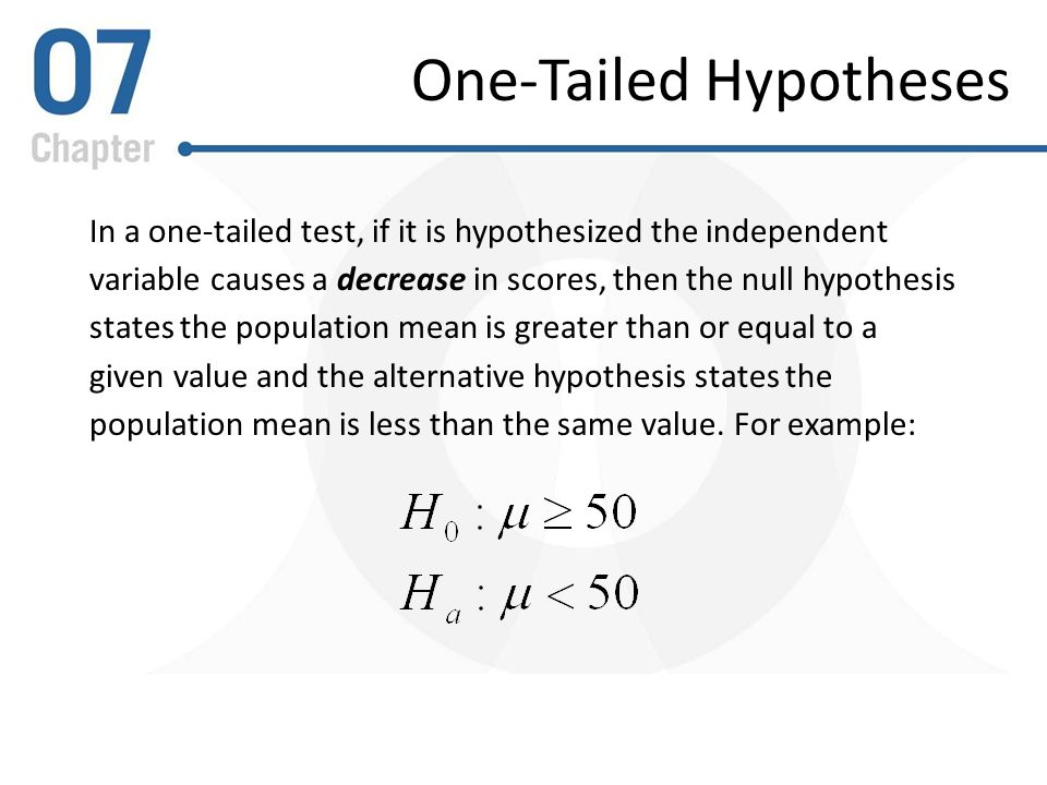 hypothesis testing paper outline