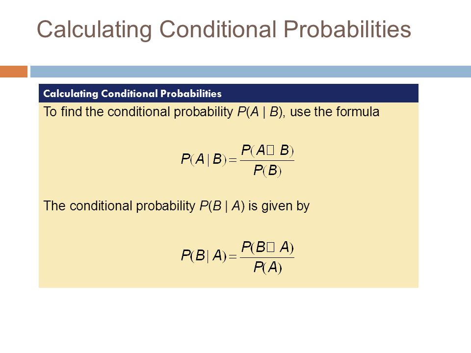 53a conditional probability general multiplication rule