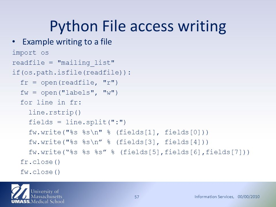 writing services in python The following code snippet shows you have to create a windows service from a python script the most important thing here is the username and password, if you ignore supplying these the server will never start and you will get a message saying that the service has not responded in time, this is a red herring.