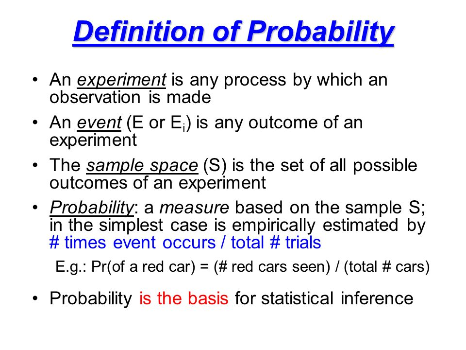 probability and inference concept Purchase an introduction to probability and statistical inference - 2nd edition print book & e-book isbn 9780128001141, 9780128004371.