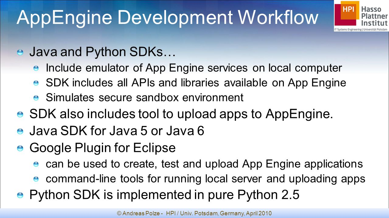 Comparative evaluation of cloud computing environments ppt download appengine development workflow baditri Choice Image
