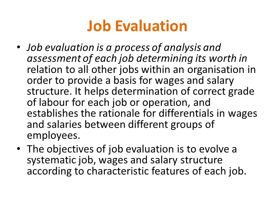 which of the following is not a method for determining validity of job evaluation The popularity of experimentation in marketing research has much to do with the  experimentation is the most scientific method employed in  if not all, of the.