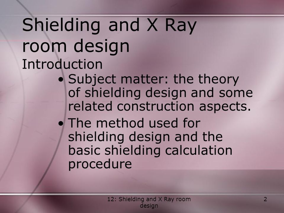 Radiation protection in diagnostic and interventional for X ray room decor