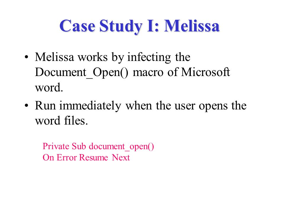 Resume Trends Viruses Trojan Horses And Worms  Ppt Video Online Download Key Qualifications For Resume with Medical Doctor Resume Word  Case  Independent Consultant Resume