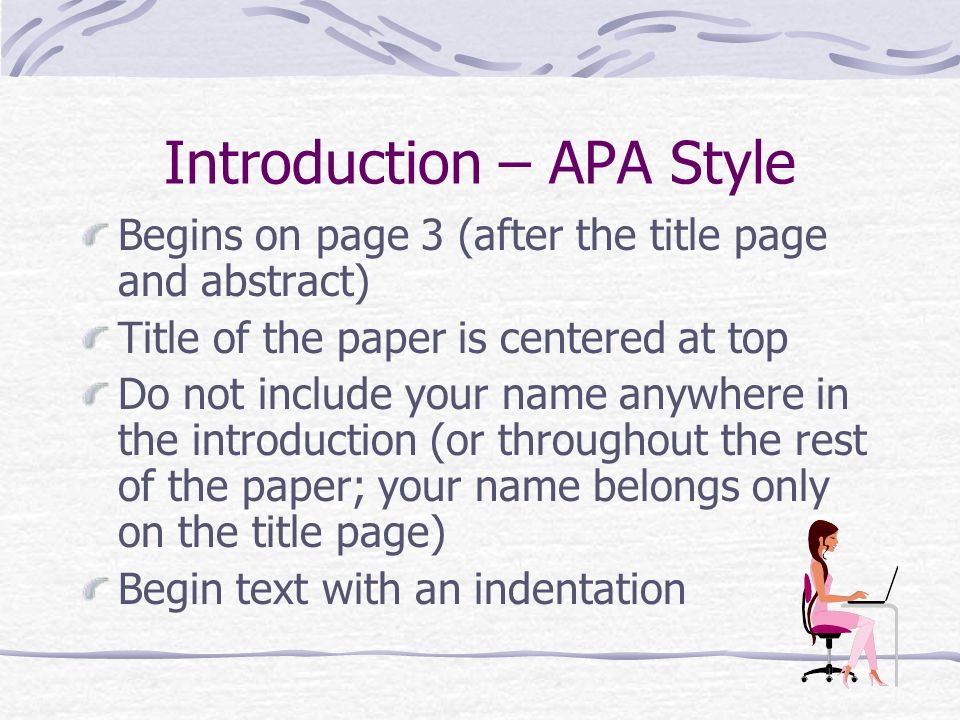 essay written in apa format