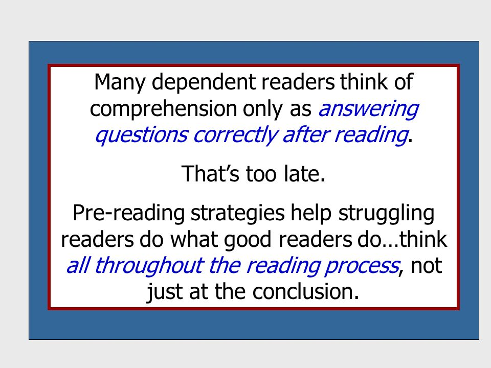 reading strategies for struggling readers pdf