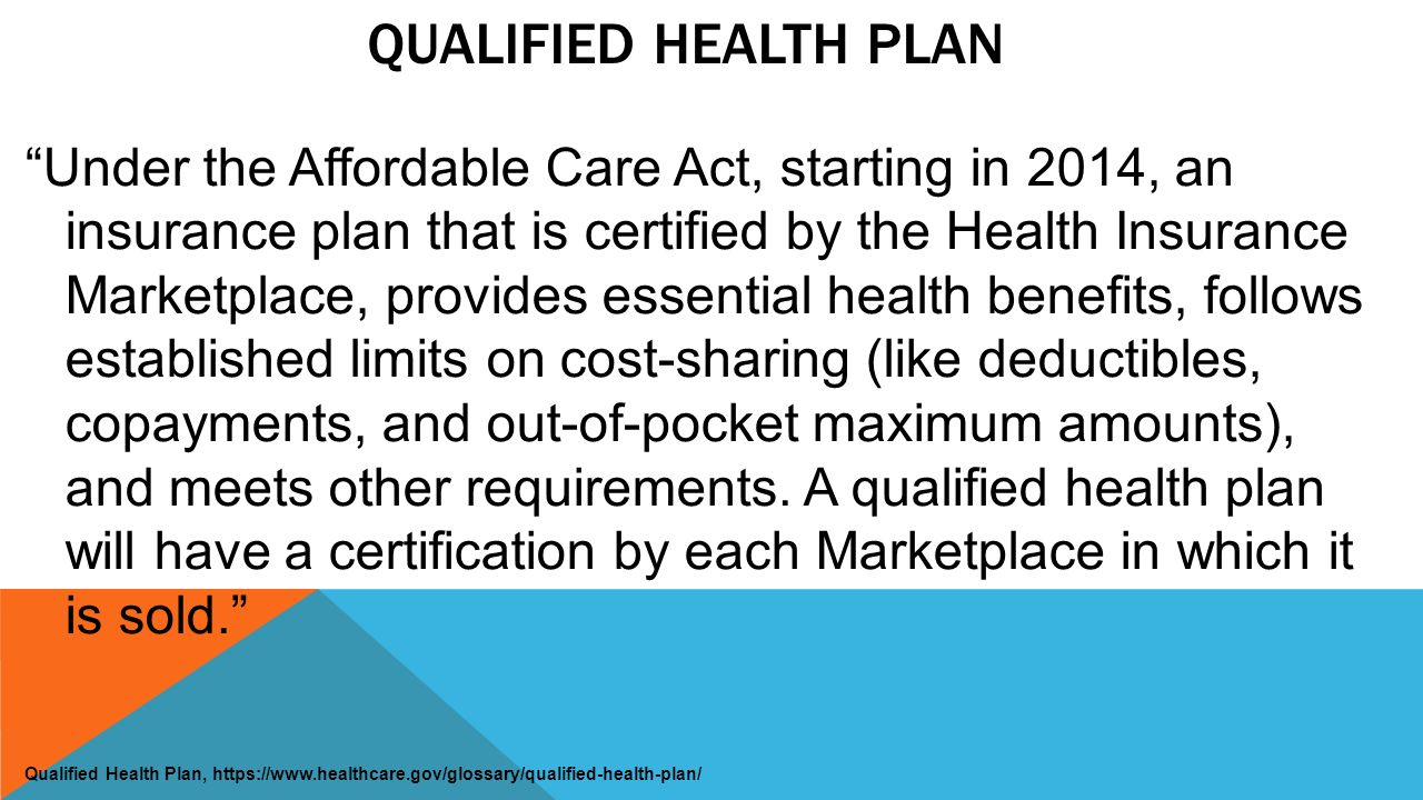 Ppaca overview leonard j nelson iii ppt download 9 qualified health plan under the affordable care act 1betcityfo Image collections