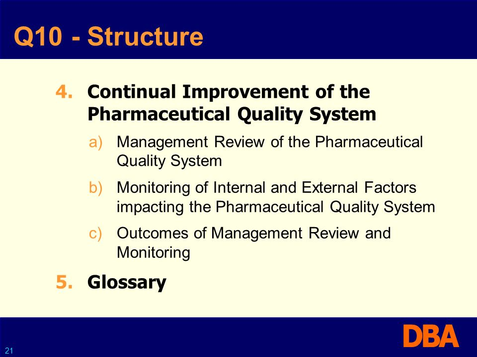 Pharmaceutical quality management
