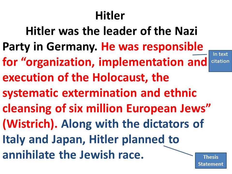 thesis statement about nazi germany Thesis statement writing help art papers marketing papers  propaganda in nazi germany this thesis examines the nazi partys ideals regarding women in germany.