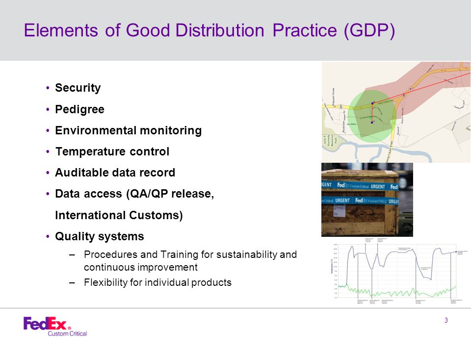 Global Good Distribution Practice Update Ppt Video