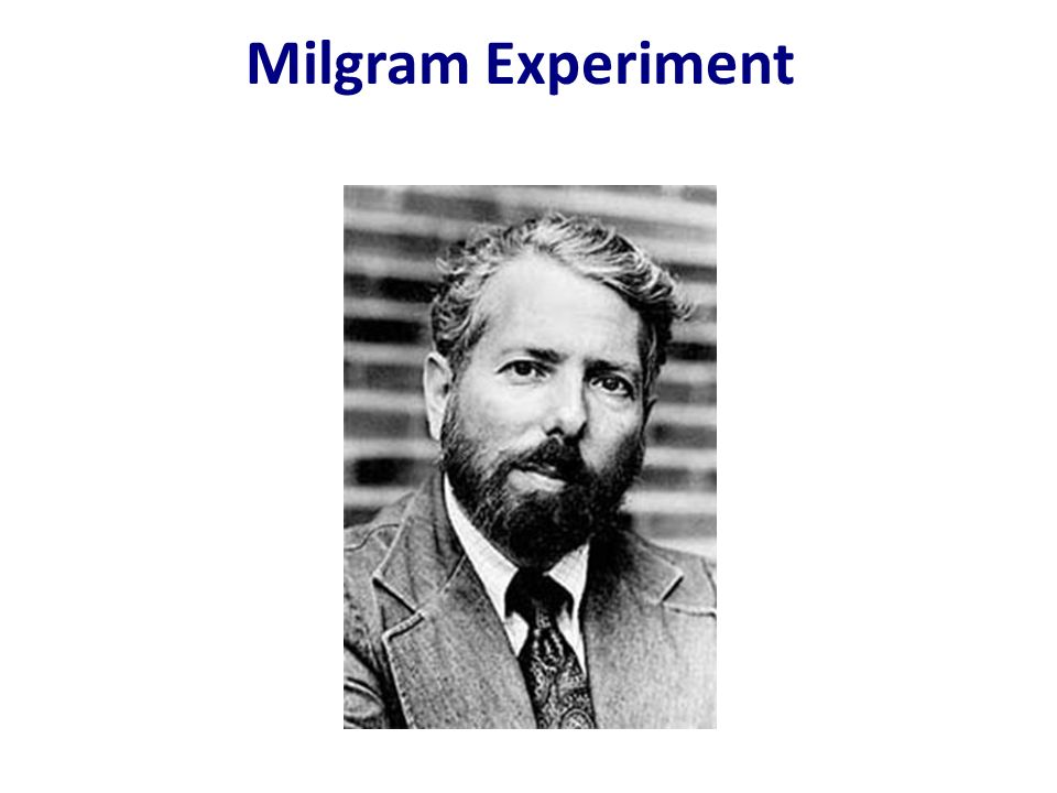 an overview of stanley milgrams experiment on obedience Obedience and authority  obedience is compliance with commands given by an authority figure in the 1960s, the social psychologist stanley milgram did a famous research study called the obedience study it showed that people have a strong tendency to comply with authority figures.