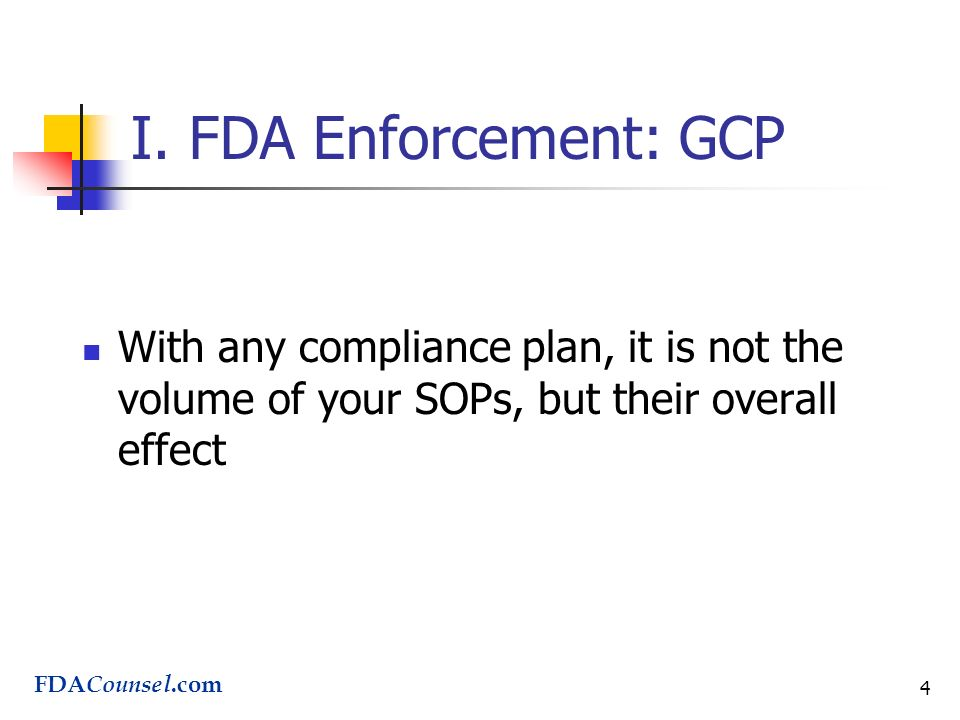 FDA Enforcement What Every Clinical Director Should Know June 15 ...