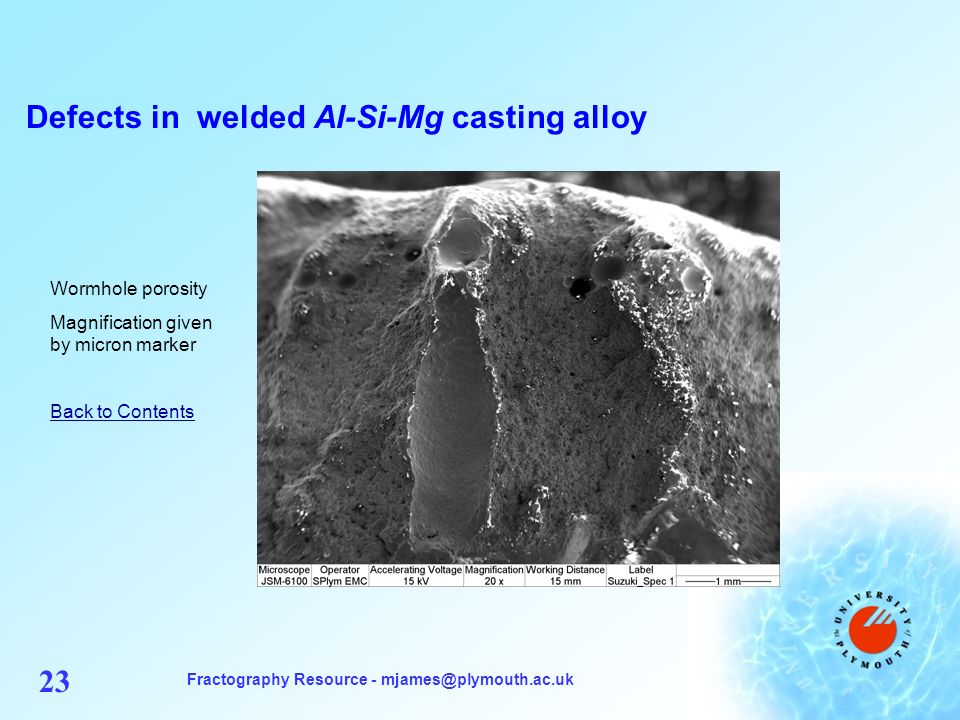 Examples Of Aluminium Fractography Ppt Download