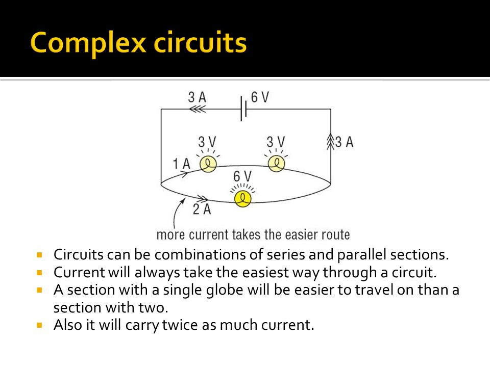 how to find current through a point in a circuit