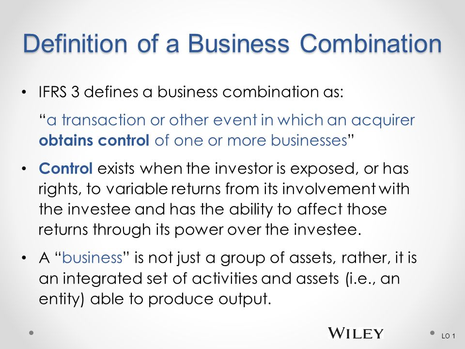 Chapter 2 Business Cbinations - ppt video online download