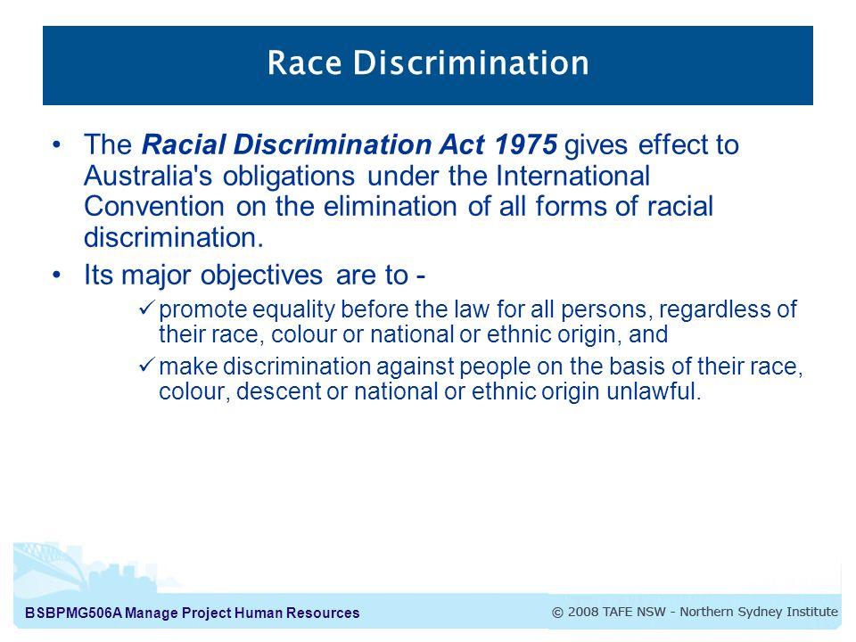 discrimination within discrimination