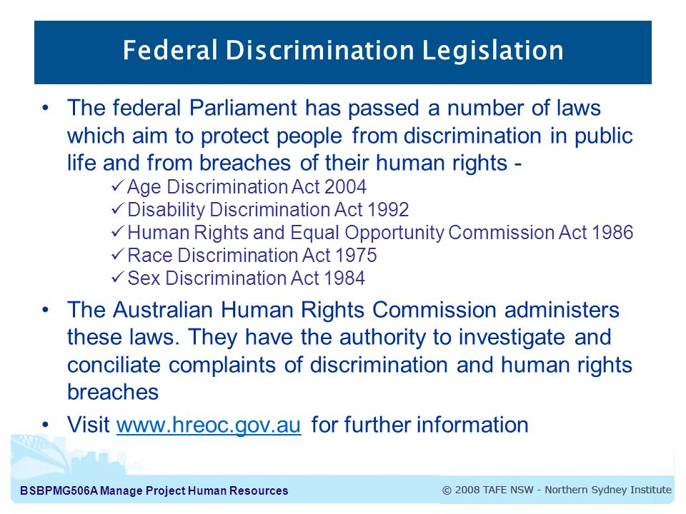 work discrimination and public services When is refusing service legal and state and federal civil rights laws prohibit employment discrimination and discrimination in places of public.