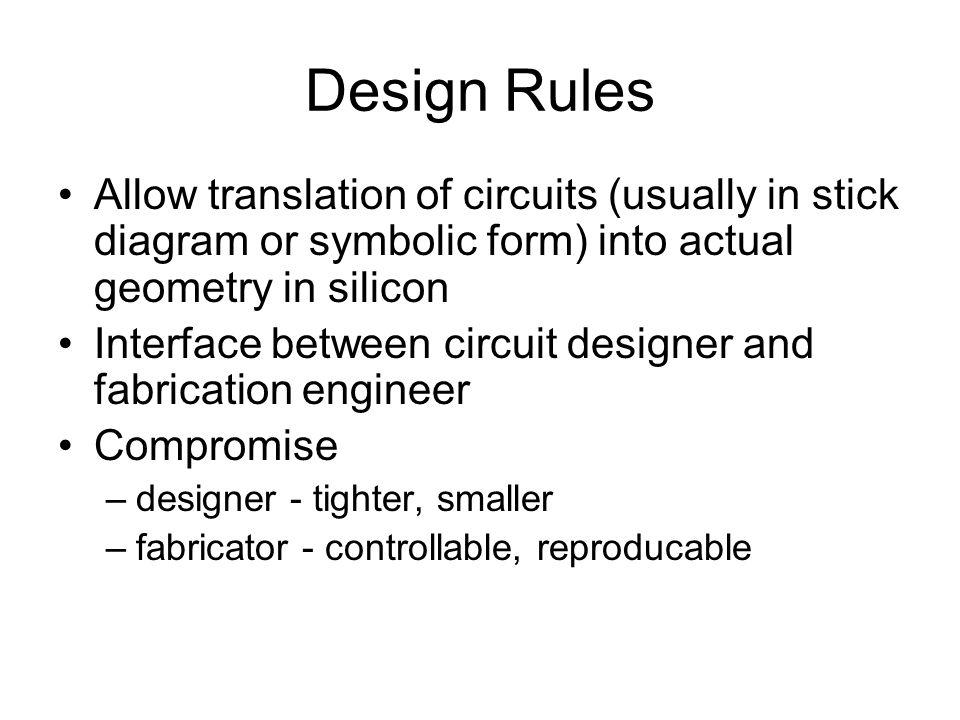 lambda based design rules in vlsi pdf