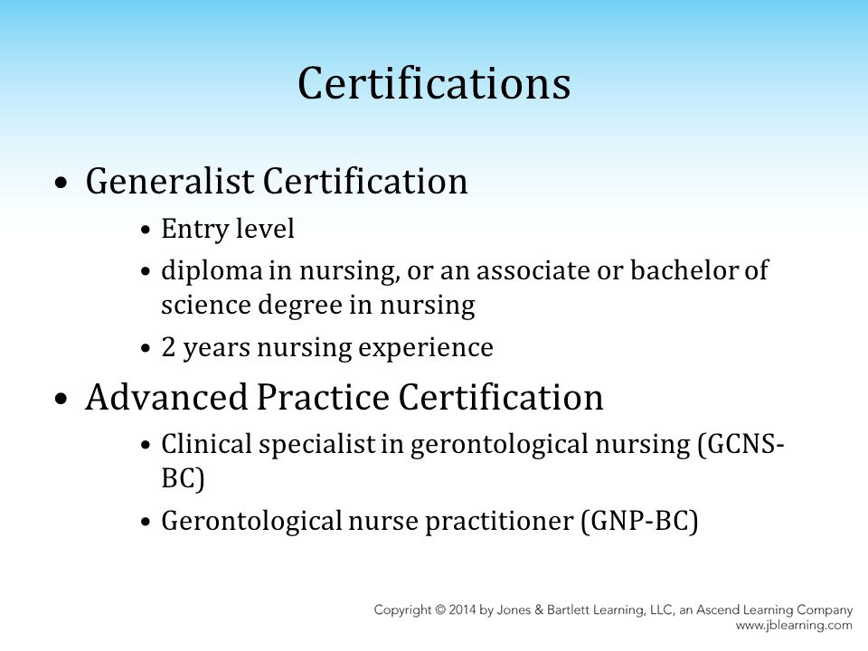 gerontological nursing competencies for care pdf
