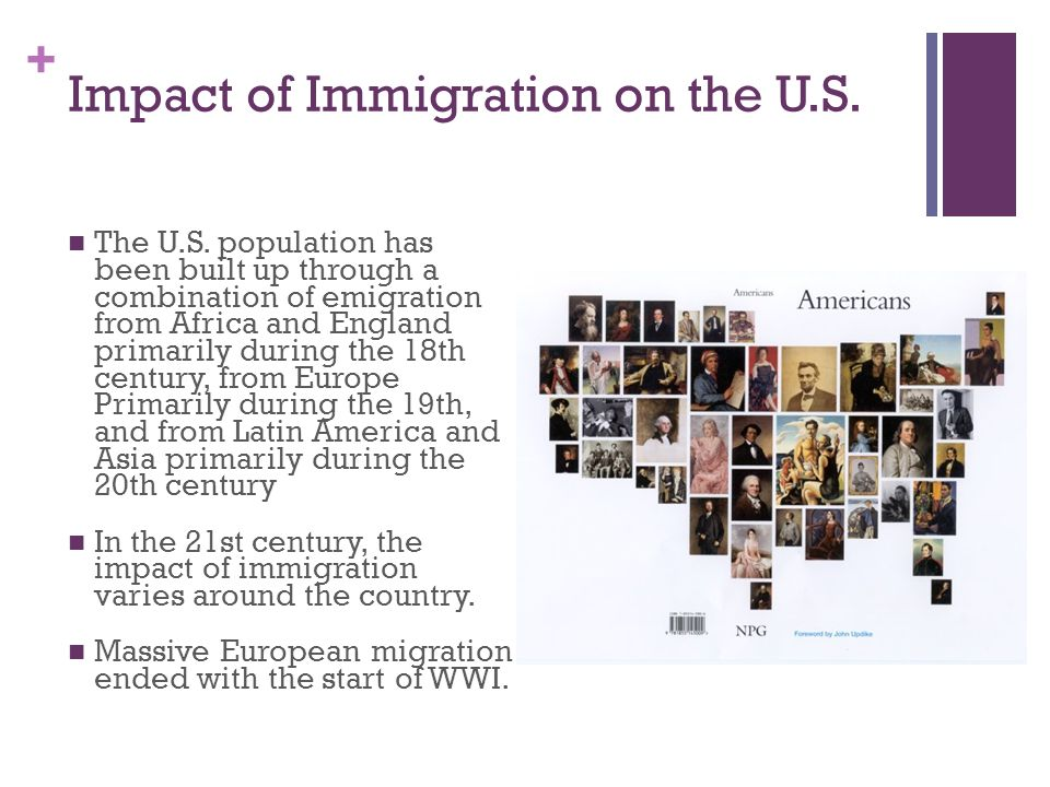 Impact of Immigration on the U.S.