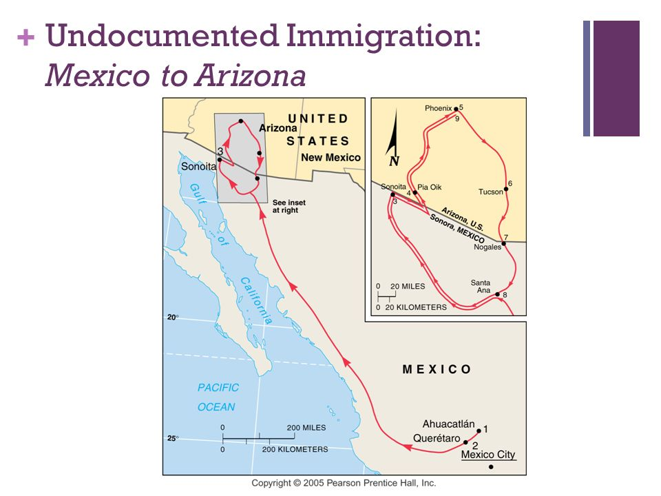 Undocumented Immigration: Mexico to Arizona