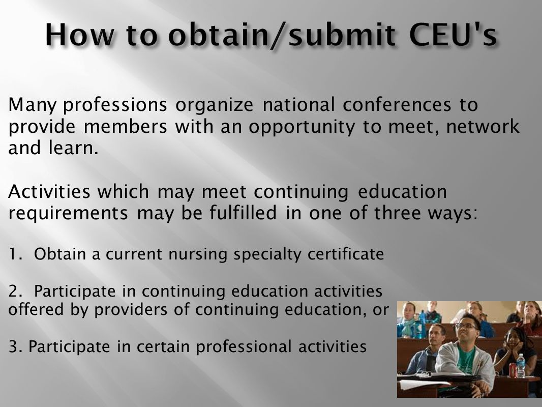 continuing professional education in nursing Elite cme provides continuing education for nurses, quality and affordable ce  courses for ceu credits to maintain your professional license.