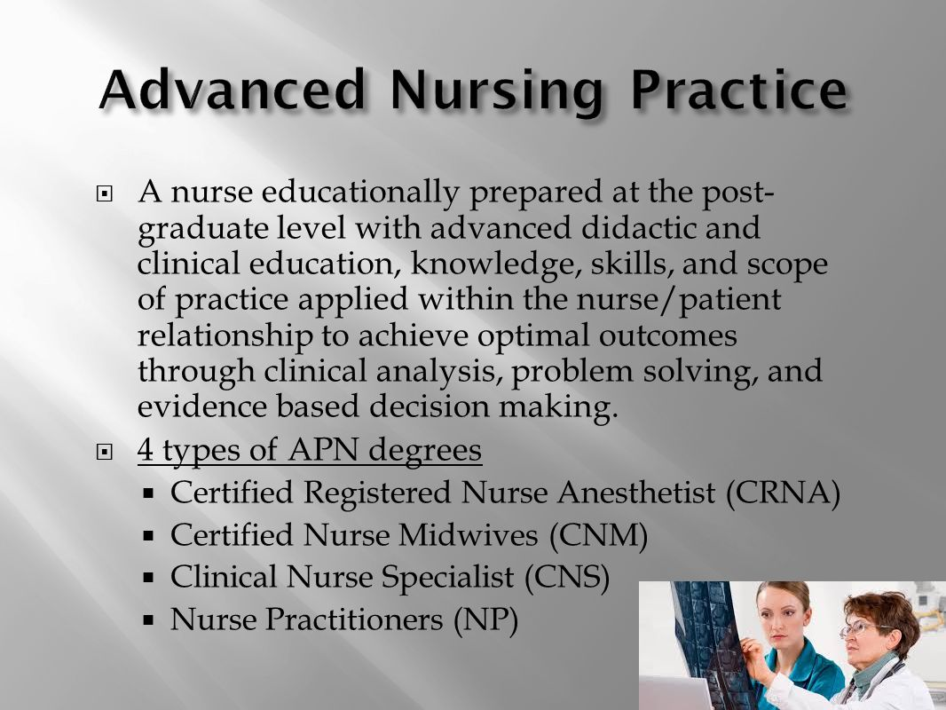 Nursing profession as new graduate nurses ppt video online download advanced nursing practice 1betcityfo Images