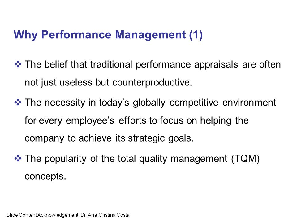 the concept behind total quality management tqm in todays organizations Total quality management and the malcolm baldrige national quality  total quality management and the malcolm baldrige  behind total quality management (tqm.