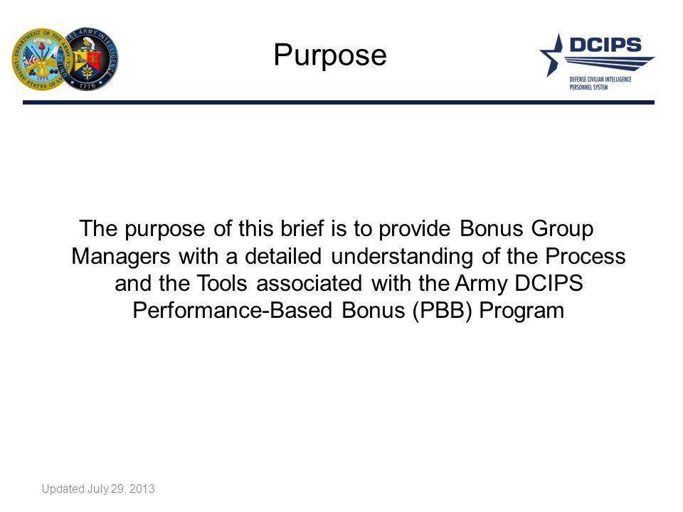 Performance-Based Bonus Program Overview - ppt download