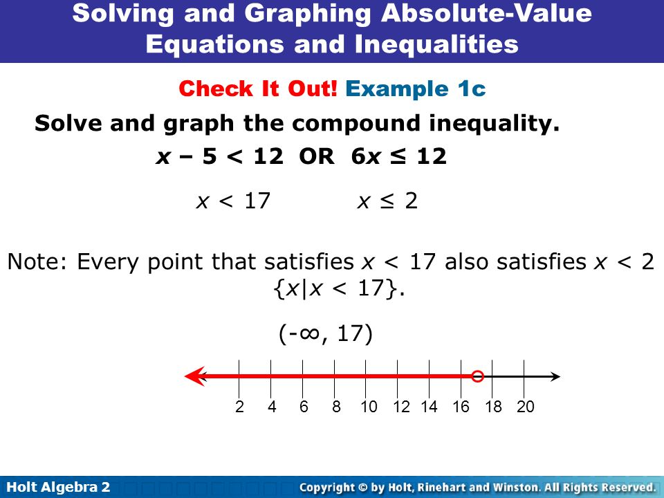 solving and graphing inequalities pdf
