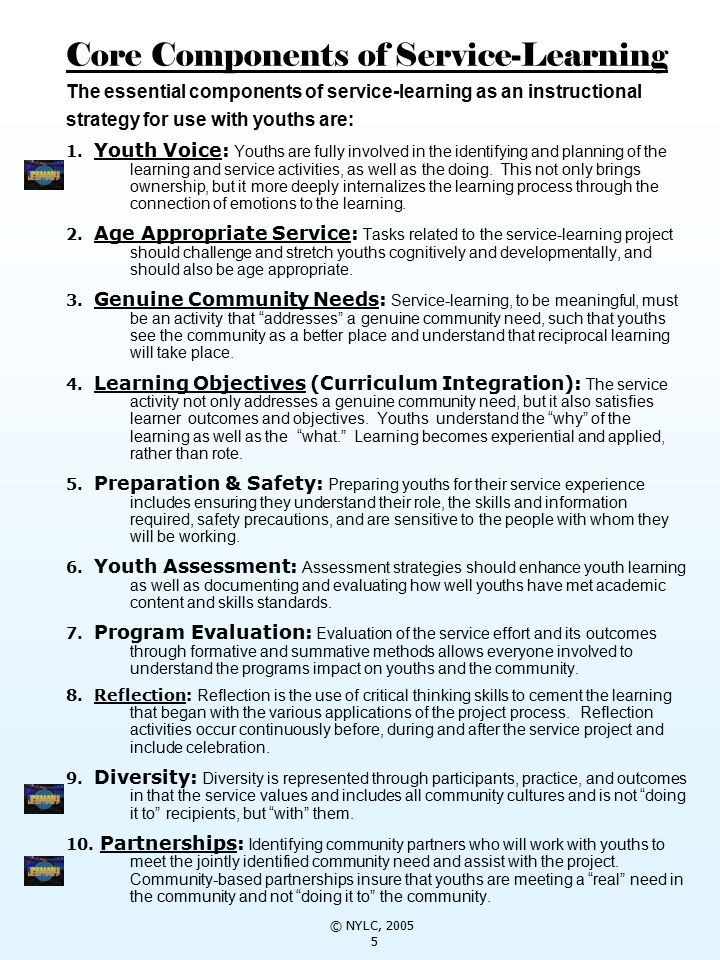 reflection on service learning Service learning reflection toolkit1 reflection is a crucial part of community service, which allows volunteers to look back on, think critically about, and learn.